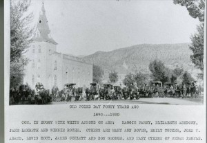 Cedar City Tabernacle – Old Folks Day (Cedar City Tabernacle)