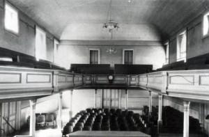 Inside the Cedar City Tabernacle (Cedar City Tabernacle)