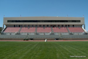 Eccles Coliseum Stadium Stands