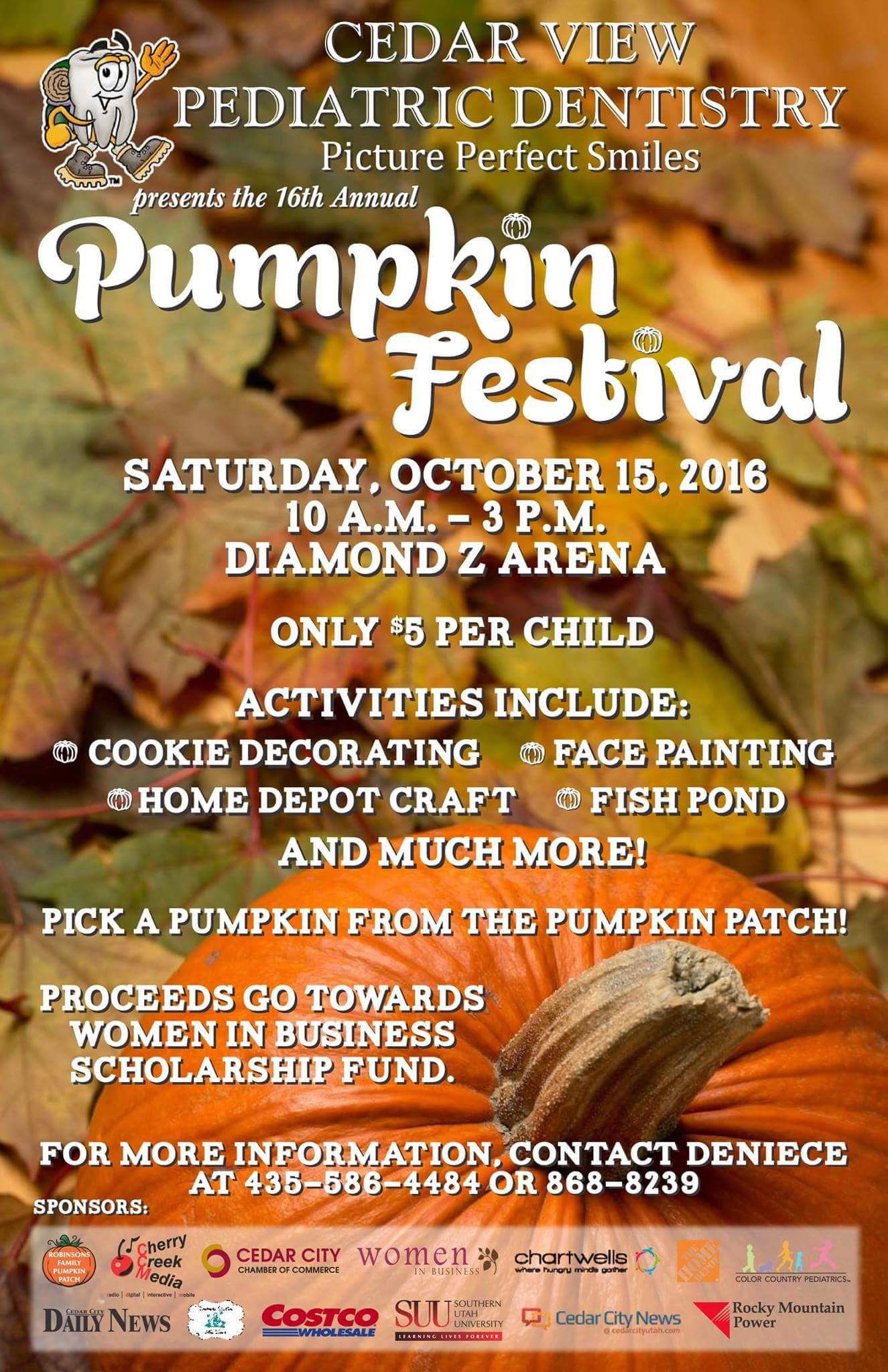 Pumpkin Festival Cedarcitypictures Com