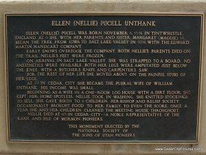 Ellen Nellie Pucell Unthank Plaque (Ellen Nellie Pucell Unthank statue)