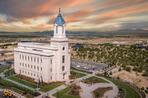cedar city temple finished completed utah lds (Cedar City Temple Signed Over to Owners)