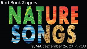 red rock singers concert cedar city 2017 suma (Red Rock Singers Concert: Nature Songs)
