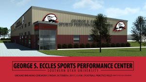 suu eccles sports performance center cedar city (George S. Eccles Sports Performance Center)