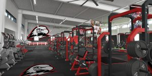 suu eccles sports performance center cedar city inside weights exercise (George S. Eccles Sports Performance Center)