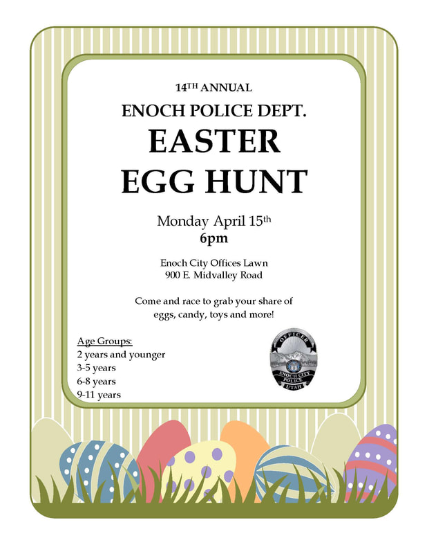 Enoch City Easter Egg Hunt 2019