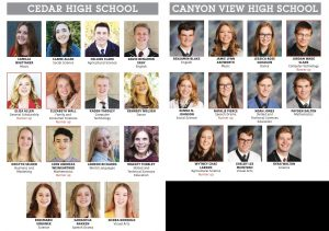individual photos sterling scholars iron county 2019 (Sterling Scholar Winners 2019)