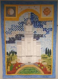 cedar city temple quilt