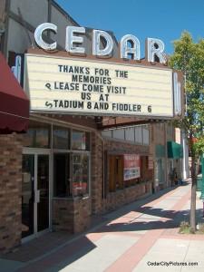 Movie Theater (Main Street) Sign Historic