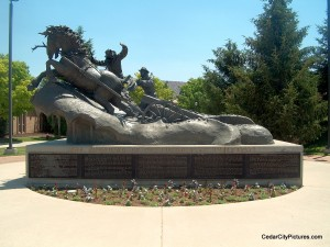 Old Sorrel monument - Founding of SUU