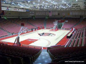 Centrum Arena Court (Centrum Arena Renamed America First Credit Union Events Center)